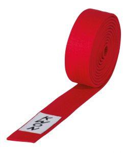 pojas karate kwon red 3007