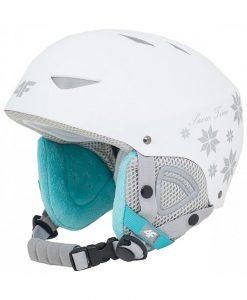 Kaciga 4F white skijanje plazanje ski snijeg zaštita padanje